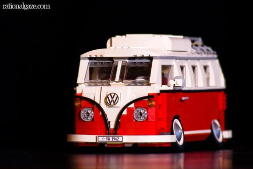 brick vw mini modular camper van volkswagen lego