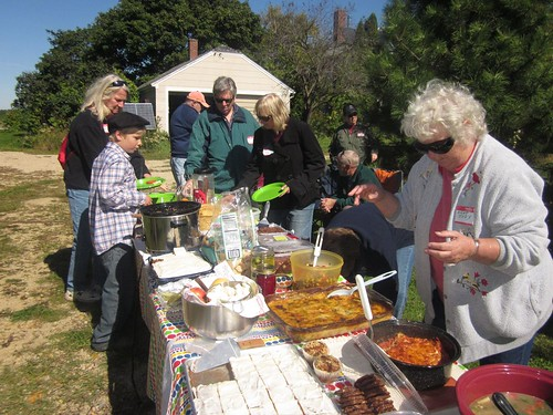Transition Green County - local food feast