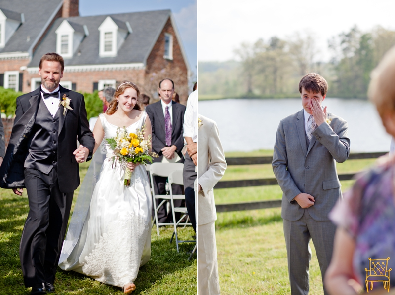 gray and yellow outdoor vintage wedding_051