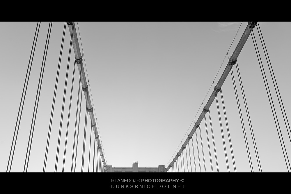 Bay Bridge, B&W.