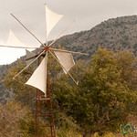 Lassithi Plateau Windmills - Crete, Greece