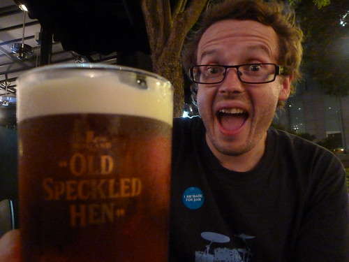 Col finds a pint of bitter in Asia and is moderately pleased