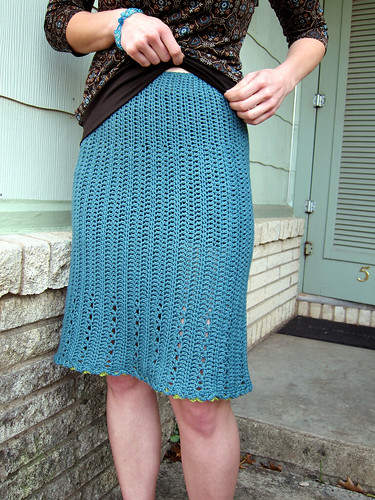 Lace Skirt by Linda Permann