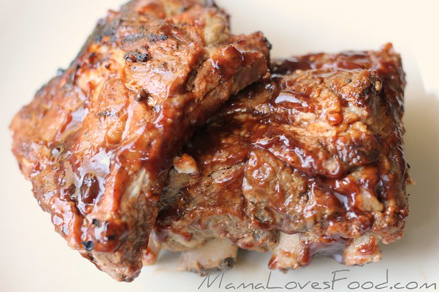 Apple Cider Pork Barbecue Ribs
