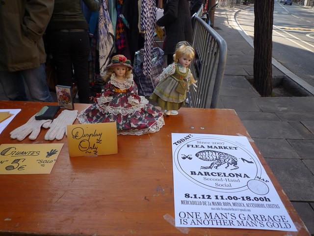 Flea Market Barcelona mercadillo