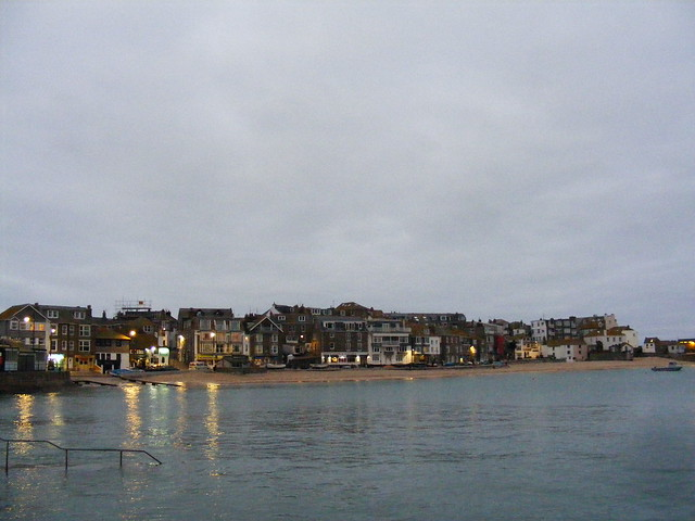 St Ives, Cornwall in January