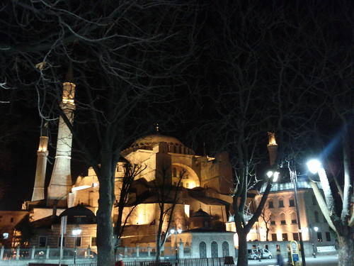 Aya Sophia by Night 1