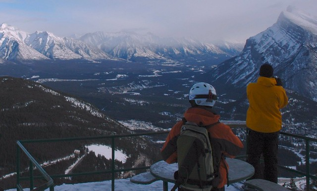 Mt Norquay at Banff