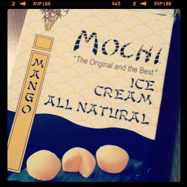 mochi ice cream.