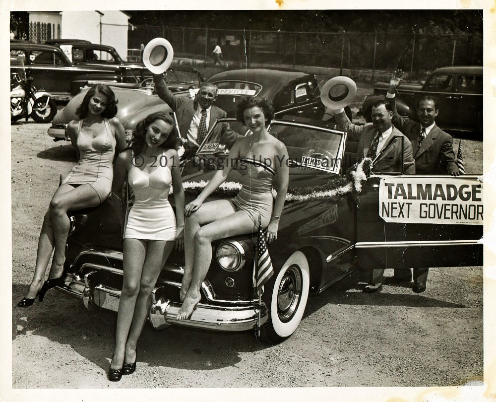 Herman Talmadge Campaign, Hapeville, Georgia, year unknown