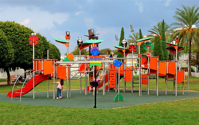Parque infantil panam mobipark l nea zoopark flickr photo sharing for Juegos de jardin divino