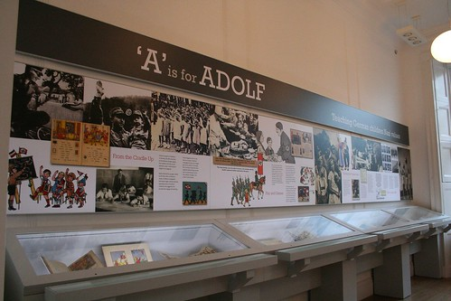 A is for Adolf - display case