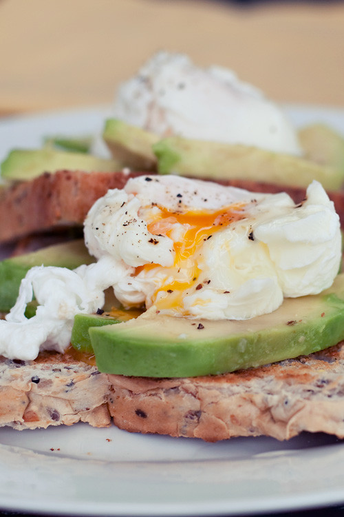 Poached Eggs + Avocado on Toast