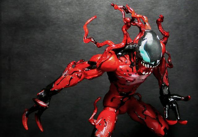 Ultimate spiderman carnage figure - photo#11