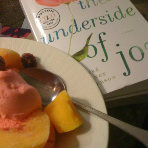 #whatimreading with a side of what I'm eating. #janphotoaday #day14