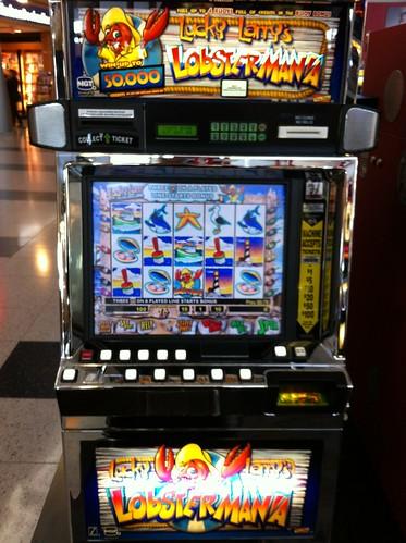Lobstermania Slot Machine in Las Vegas