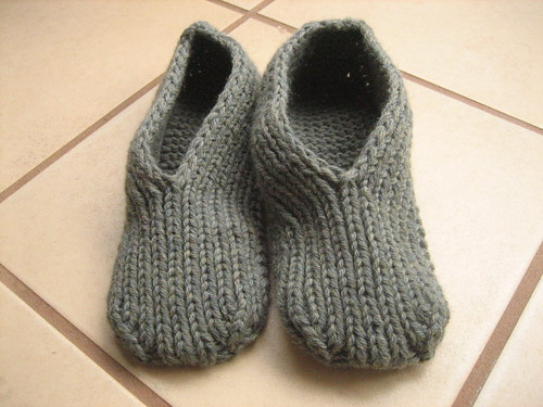 Finished slippers
