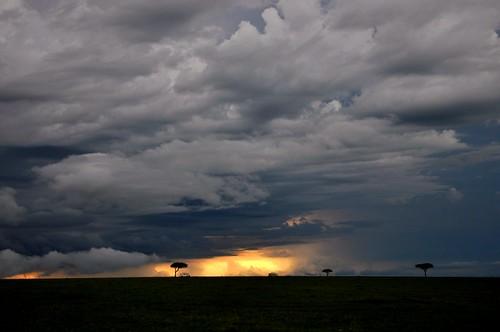 無料写真素材, 自然風景, 空, 雲, 暗雲, 風景  ケニア