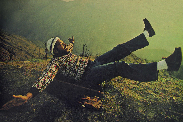Marvin Gaye by Annie Leibovitz, 1976