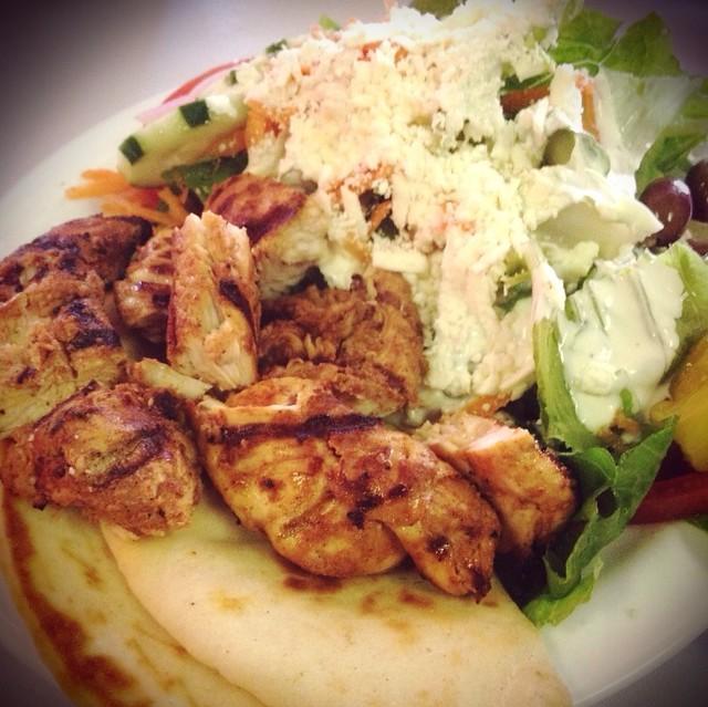 Marinated Grilled Chicken @ Aladdin Mediterranean Grill | Flickr ...