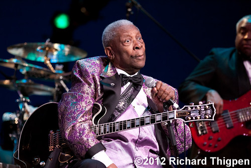 B.B. King - 01-13-12 - Knight Theatre, Charlotte, NC