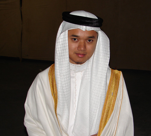 once upon a time, during my own wedding in Makkah!