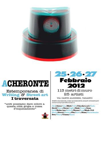 ACHERONTE //I Traversata// by STENCILNOIRE