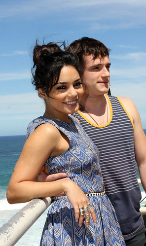 Vanessa Hudgens and Josh Hutcherson by Eva Rinaldi Celebrity and Live Music Photographer