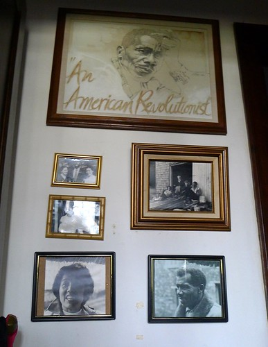 Wall of Photos at Grace Lee Boggs' Home