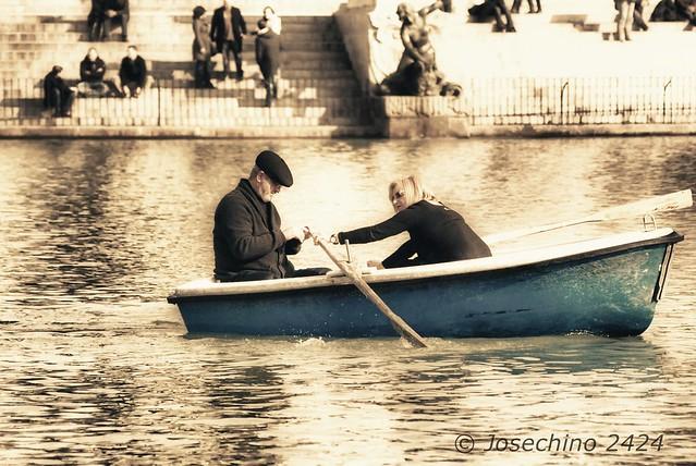 viaje en barca