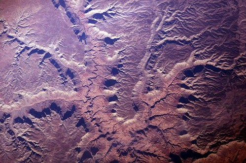 The 'Heart' of the Grand Canyon (NASA, International Space Station, 01/19/12)