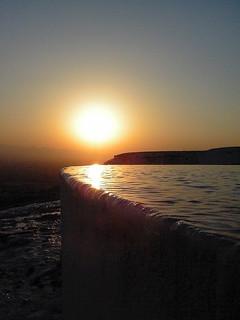Sunset Over Cotton Castle