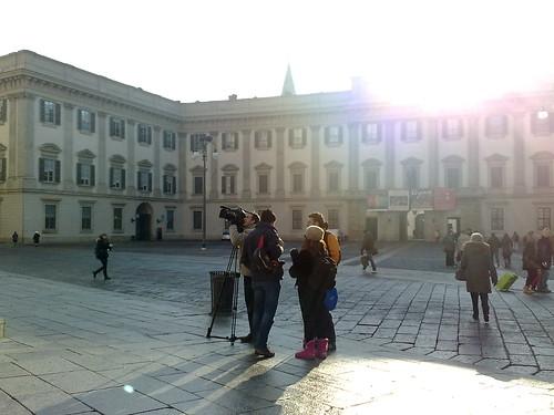 Telereporter per il Duomo by durishti