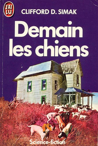 French - Clifford D. Simak - City - cover artist Tibor Csernus