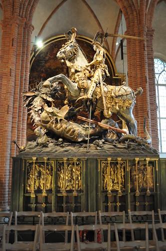 2011.11.10.222 - STOCKHOLM - Storkyrkan (Sankt Nicolai kyrka) - Sankt Göran och draken