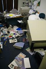 Earthquake office