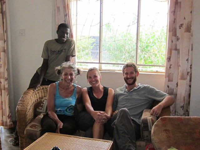 Us with Emma and Lynn at Connect Africa Headquarters