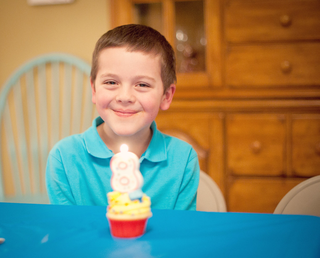 Noah turns 8