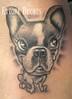 cane,doggy,dog,tattoo,tatuaggio,Ettore Bechis Tatuaggio realizzato da