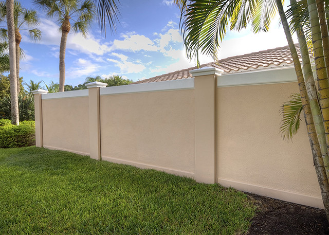 Precast Concrete Fencing : Precast concrete fence wall houston texas