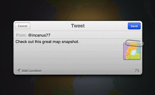 MapBox's built in Twitter integration
