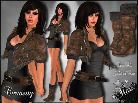 PROMO *Stars*Fashion* Curiosity outfit, 99 lindens by Cherokeeh Asteria