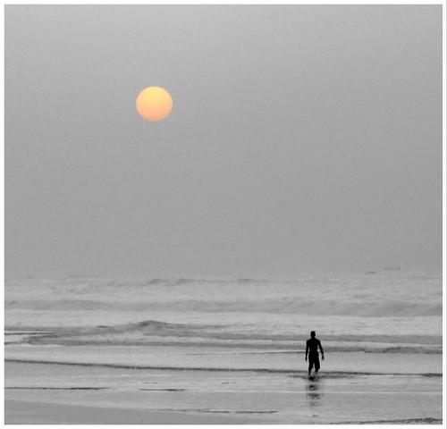 sunrise ghana kokrobitebeachinghana westafricanbeaches sunriseinghana