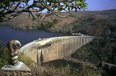 Sub-Saharan Africa has large potential for hydropower generation, but is yet to exploit it. Pictured here is the Kariba Dam.Credit: Kristin Palitza