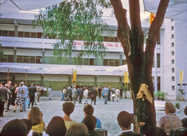 Lễ khánh thành trường Công tác Xã hội tại Sài Gòn - Dedication - School of Social Work in Saigon, 1971