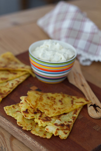 Tattie scones / Potato scones / Kartulikakud