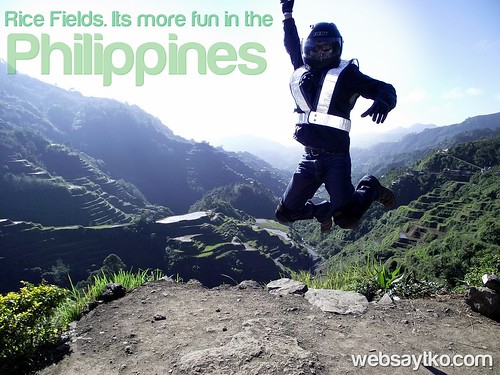 rice fields its more fun in the philippines