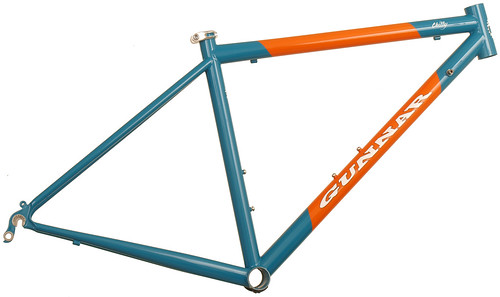 <p>Gunnar Cycles USA Roadie 50cm with Miami Dolphins Colors.</p>