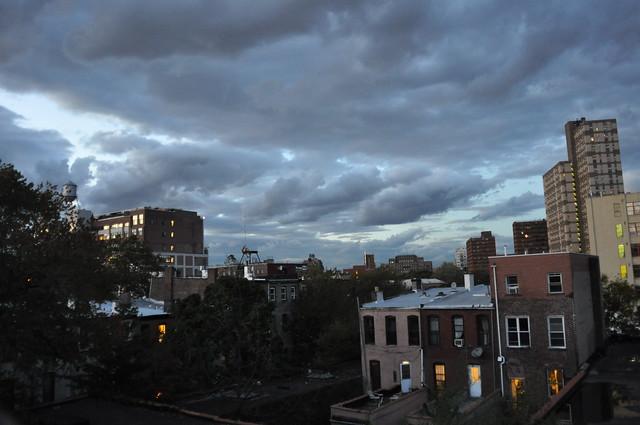 October Evening Sky
