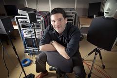 Tiago H. Falk, professeur au Centre Énergie Matériaux Télécommunications